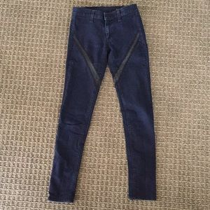 Rag and Bone Cut Out Jeans!